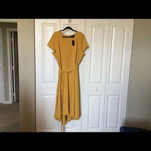 LB Gold HiLow Dress
